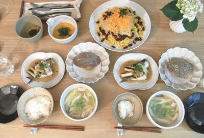 お魚と野菜たっぷり晩ご飯 2009.6.11