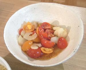 中華ごはん!トマトとセロリのサラダ 2009.6.17