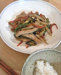中華ごはん!野菜たっぷり青椒肉絲 2009.6.17