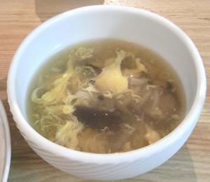 中華ごはん!キノコとたまごのスープ 2009.6.17