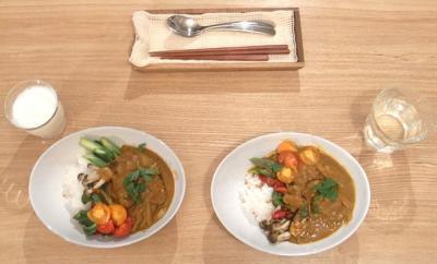 野菜たっぷりカレー 2009.6.21