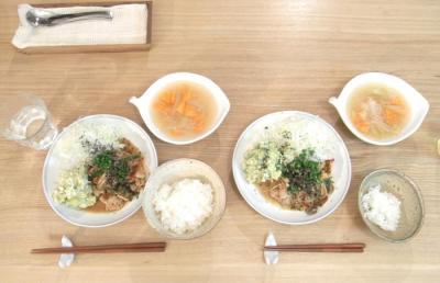 豚の生姜焼き 洋食屋さん風!2009.6.23