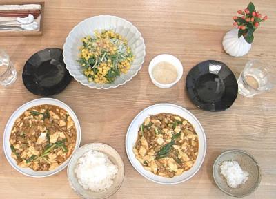 今夜は中華!麻婆豆腐!2009.6.26