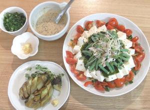 棒棒鶏サラダ 2009.7.7