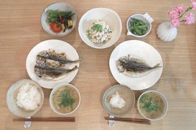干物定食 2009.7.13