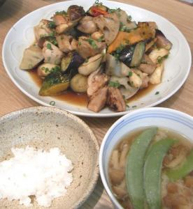 チキンと野菜の南蛮漬け定食 2009.2.26