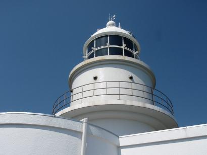 最終目的地の日の岬灯台、四国が見えなかったのが残念でしたが楽しませて頂きましたよ。