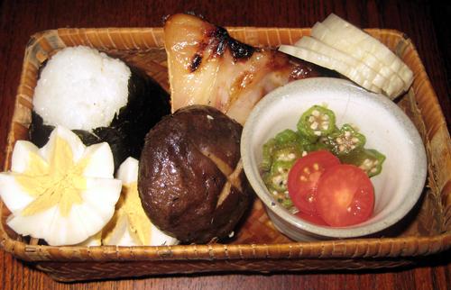 鯛の味噌漬け弁当