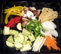 レッドカレー 野菜