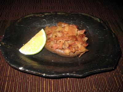 椎茸のステーキ