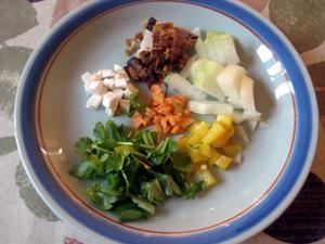 焼き飯 野菜