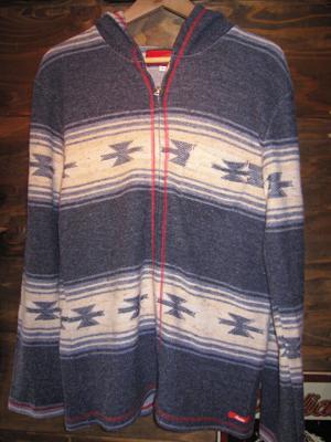 blanket parka navy