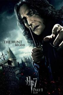 HARRY POTTER AND THE DEATHLY HALLOWS PART I Snape