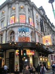 Gielgud Theatre-Hair
