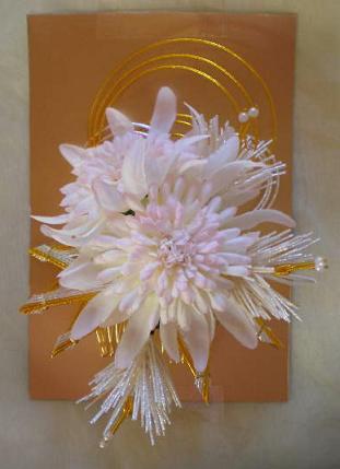 凛香菊の髪飾り