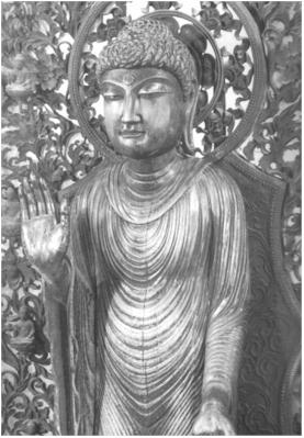 釈迦如来-清涼寺