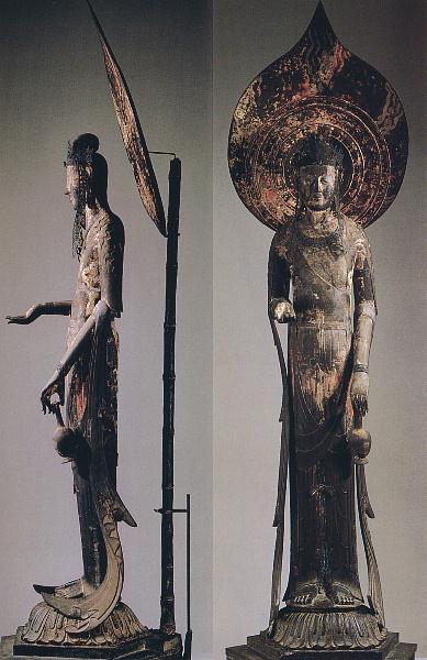 法隆寺-百済観音菩薩立像