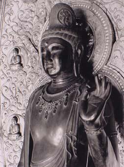 薬師寺-聖観音菩薩像
