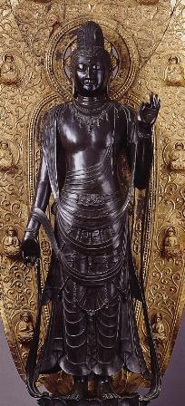 薬師寺-聖観音菩薩像3