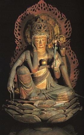 歓心寺-如意輪観音坐像