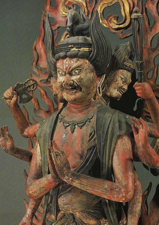 浄瑠璃寺-馬頭観音立像