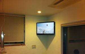 リフォーム ダイニング壁掛けTV