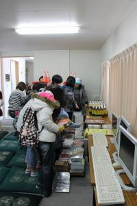 福島 会津若松 楢葉町 仮設住宅 移動映画館 10