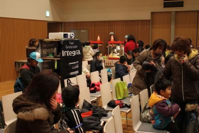 福島県 南相馬市 移動映画館  2012  3