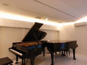 【防音室施工実績】茨城県 つくばみらい市 ピアノサロン 防音工事
