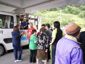 気仙沼 映画上映会 移動映画館 映画 シネマ 被災地 支援 5