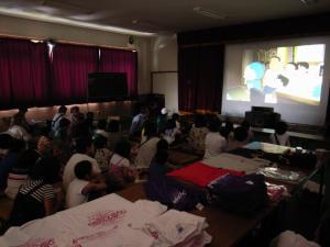 気仙沼 映画上映会 移動映画館 映画 シネマ 被災地 支援 9