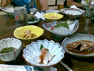 海鮮祭り、後にエビフライ