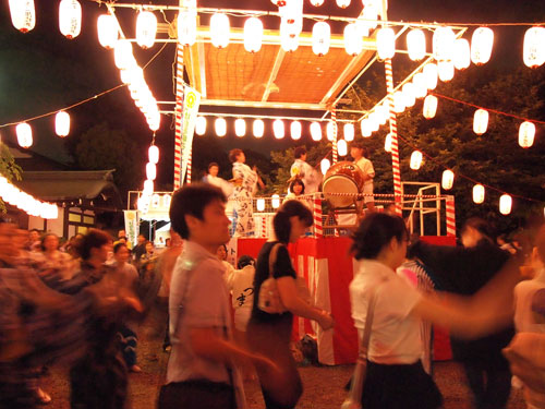 盆踊り200