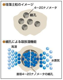 珪藻土構造