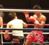キックボクシング試合2