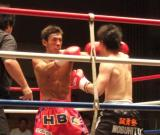 キックボクシング試合7