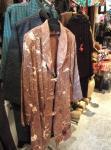 柿しぶ染めのコート