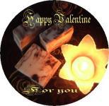 Valentineのチョコ石鹸