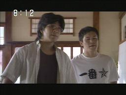 押川さん(右)のTシャツ・・・