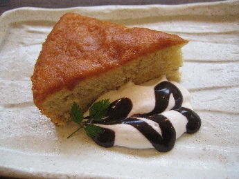 バナナラムケーキ