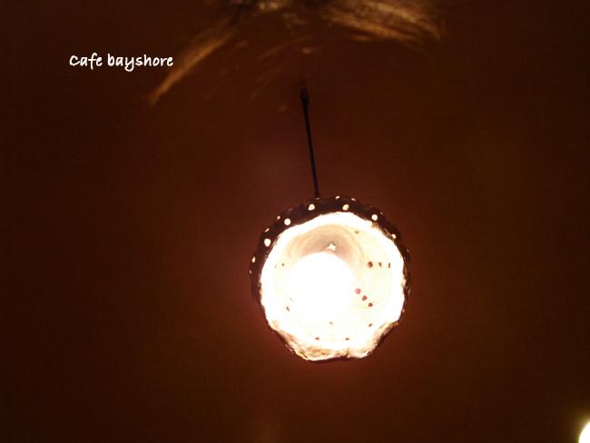 インド料理屋のライト