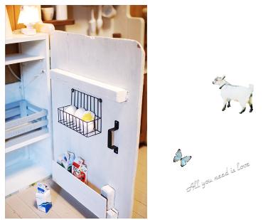 16 ままごとキッチン ままごと冷蔵庫2