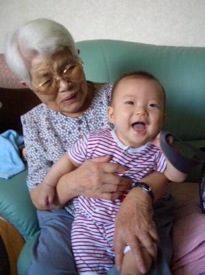 ひいおばあちゃんと
