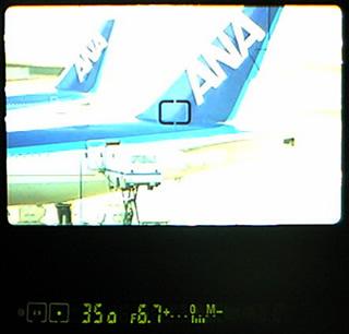 スポット測光の使い方 参考画像 露出計 ファインダー内