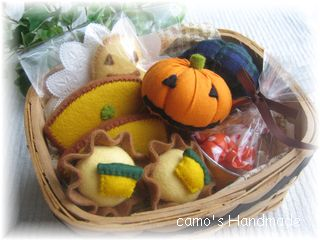 ハロウインお菓子