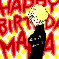 マリア誕生日