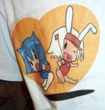 きら&キャサリンTシャツ