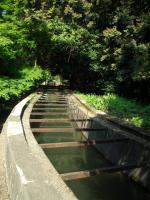 水路閣を上から撮影