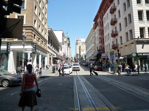 サンフランシスコ市内