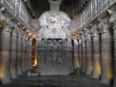インド石窟追跡